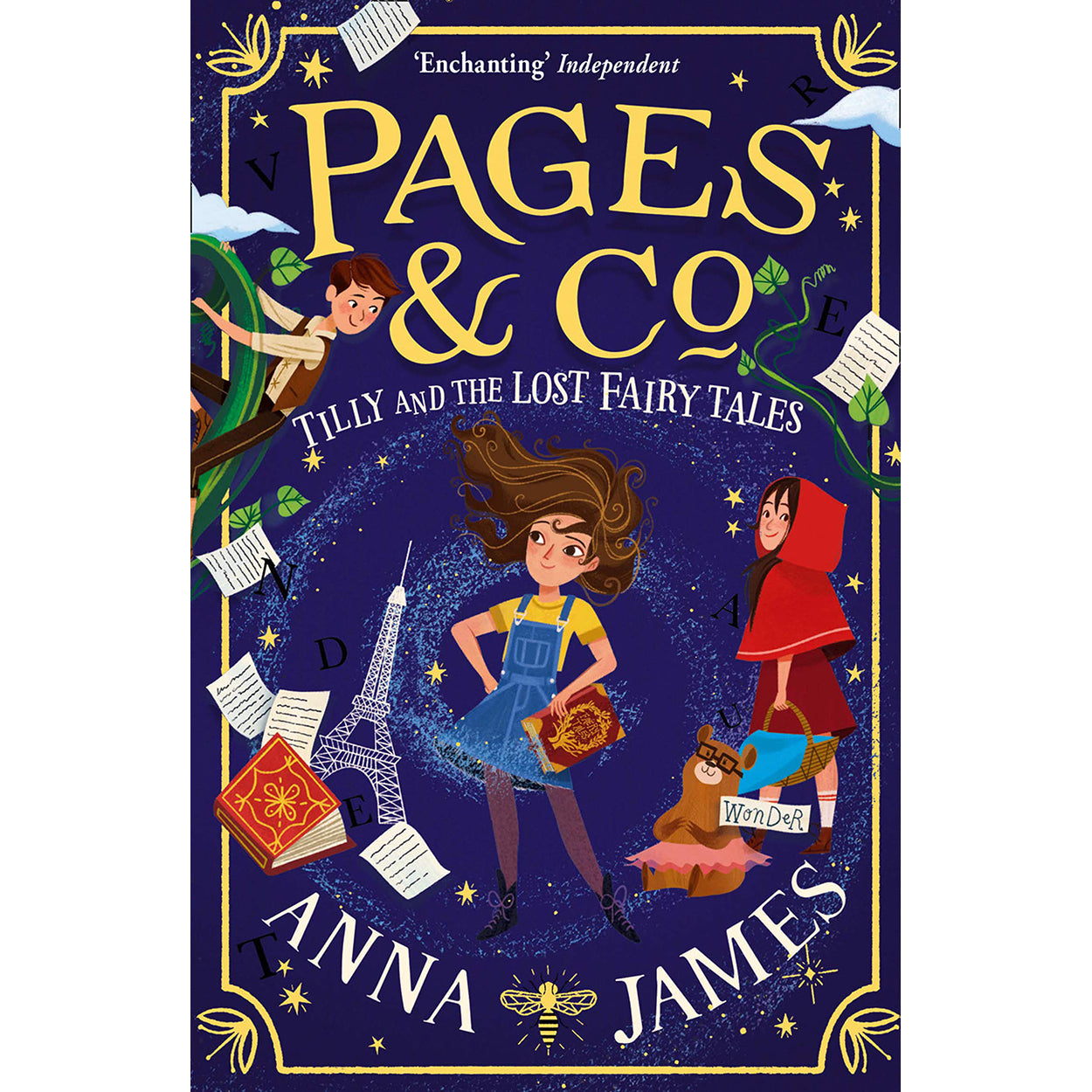 Cover of Pages & Co.: Tilly and the Lost Fairy Tales by Anna James