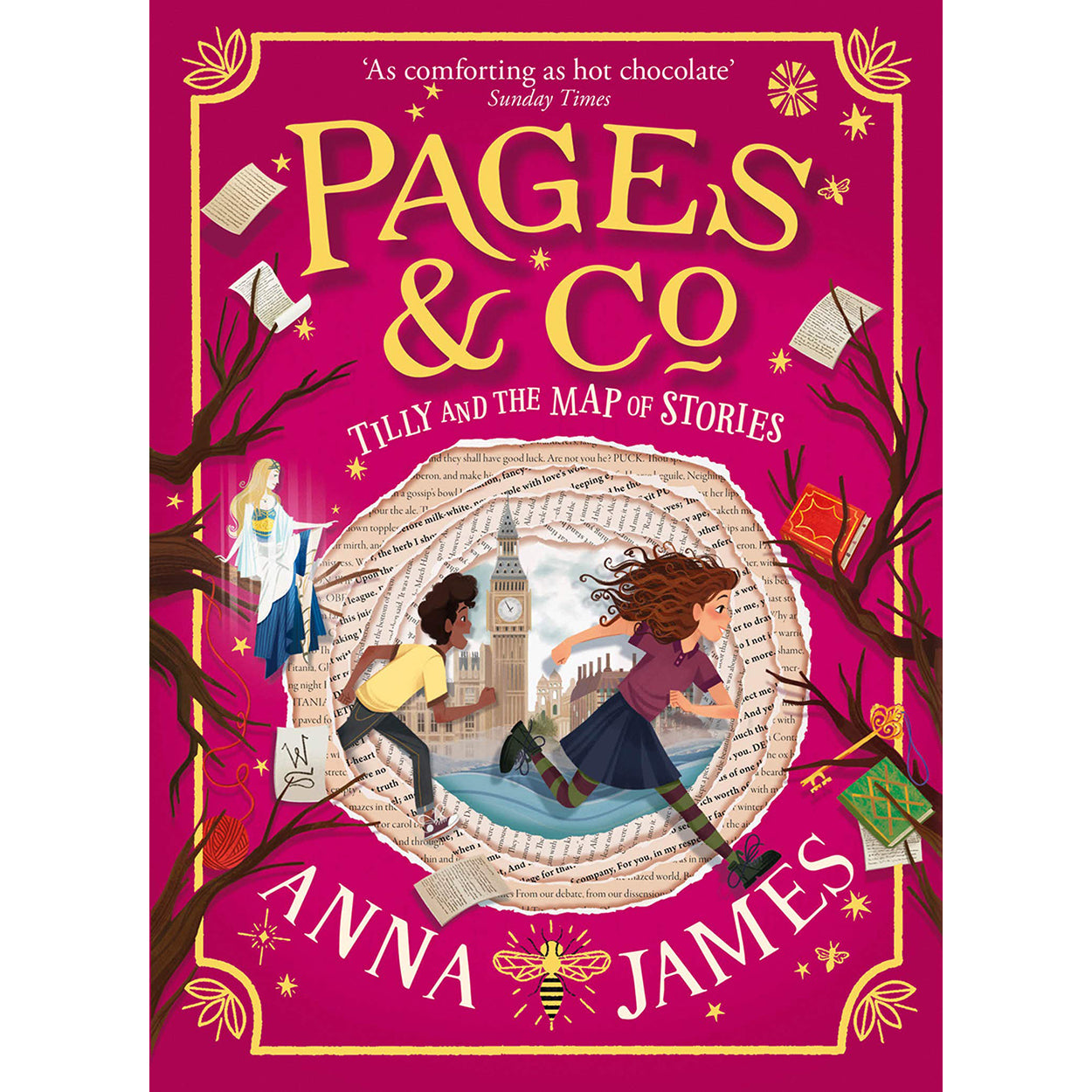 Cover of Pages & Co.: Tilly and the Map of Stories by Anna James
