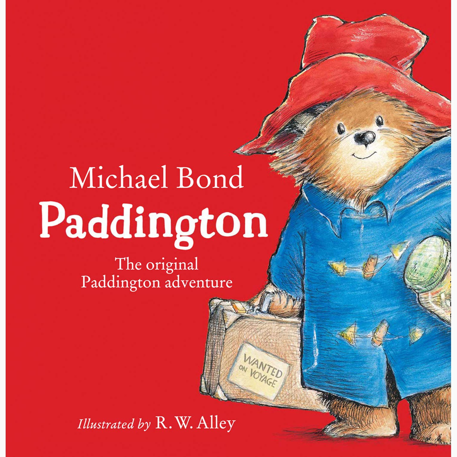 Paddington Board Book Cover