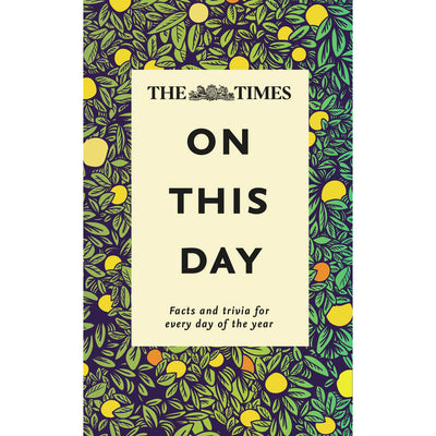 Cover of On This Day: Facts and Trivia for Every Day of the Year