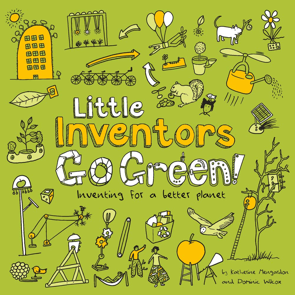Little Inventors Go Green! Cover
