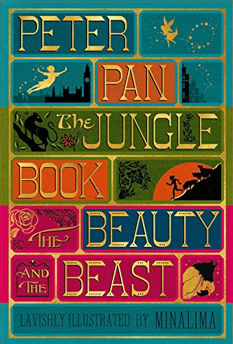 cover of Illustrated Classics Boxed Set: Peter Pan, Jungle Book, Beauty and the Beast