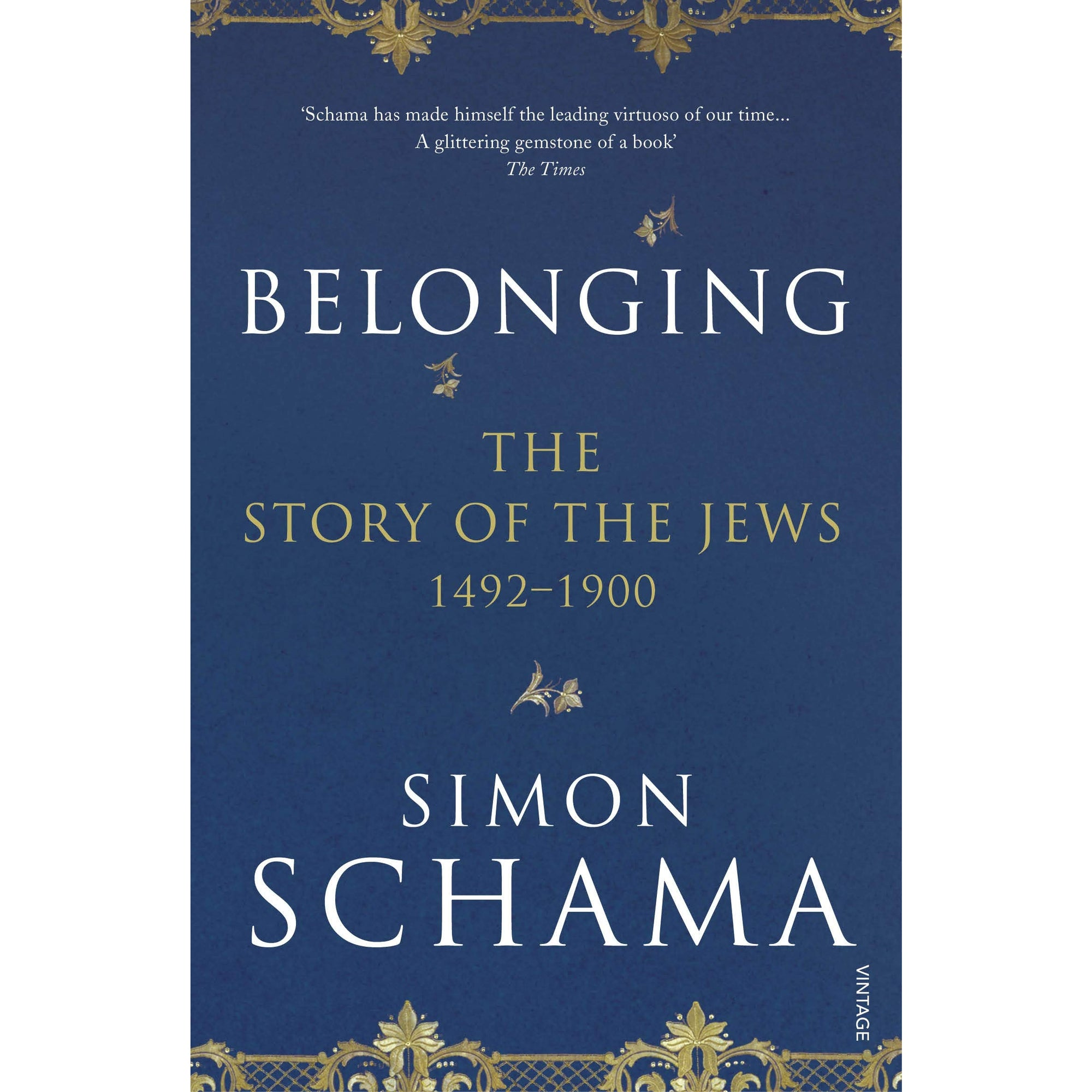 Cover of Belonging Simon Schama
