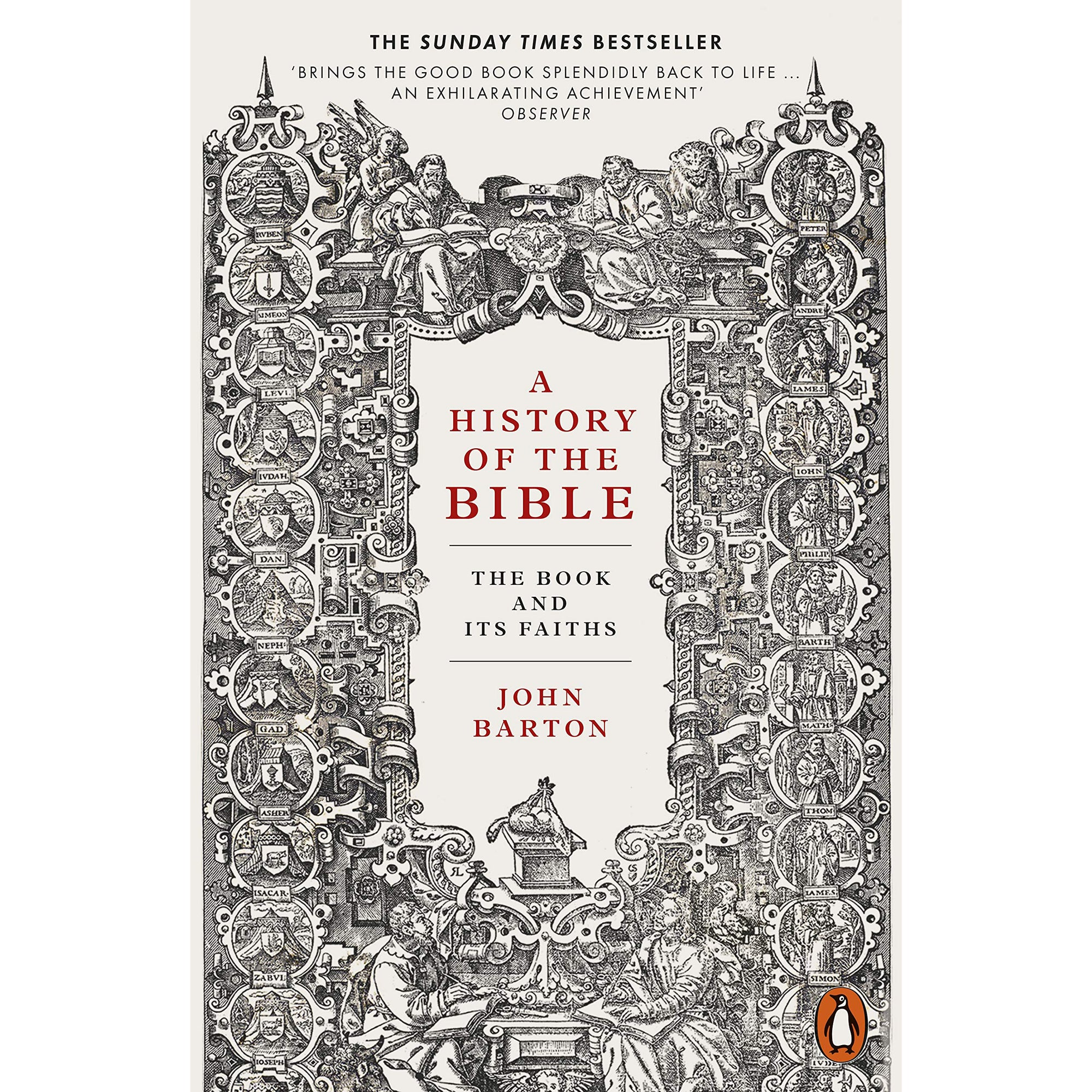 Cover of A History of the Bible: The Book and Its Faiths