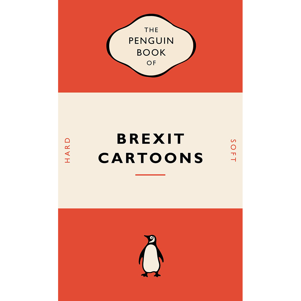 The Penguin Book of Brexit Cartoons Front Cover