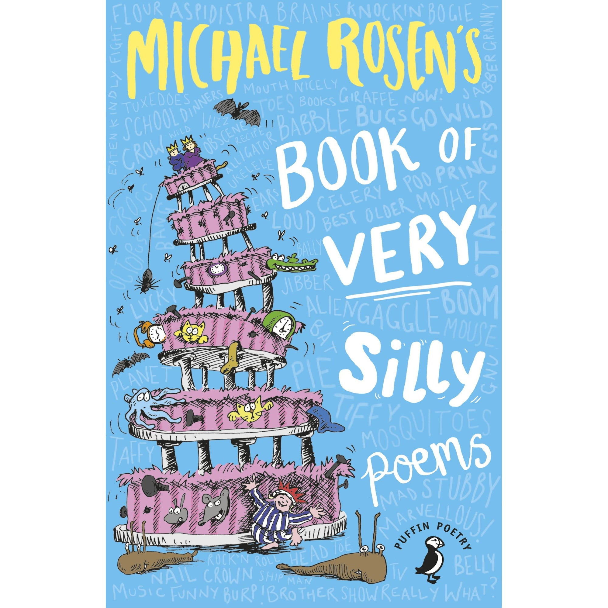 Cover of Michael Rosen's Book of Very Silly Poems
