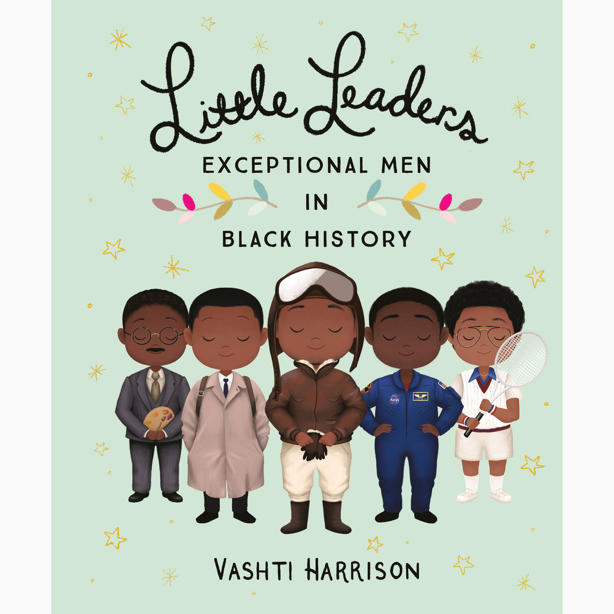 Cover of Little leaders exceptional men in black history