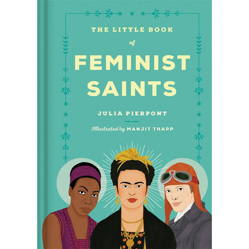 The Little Book of Feminist Saints Hardback Cover