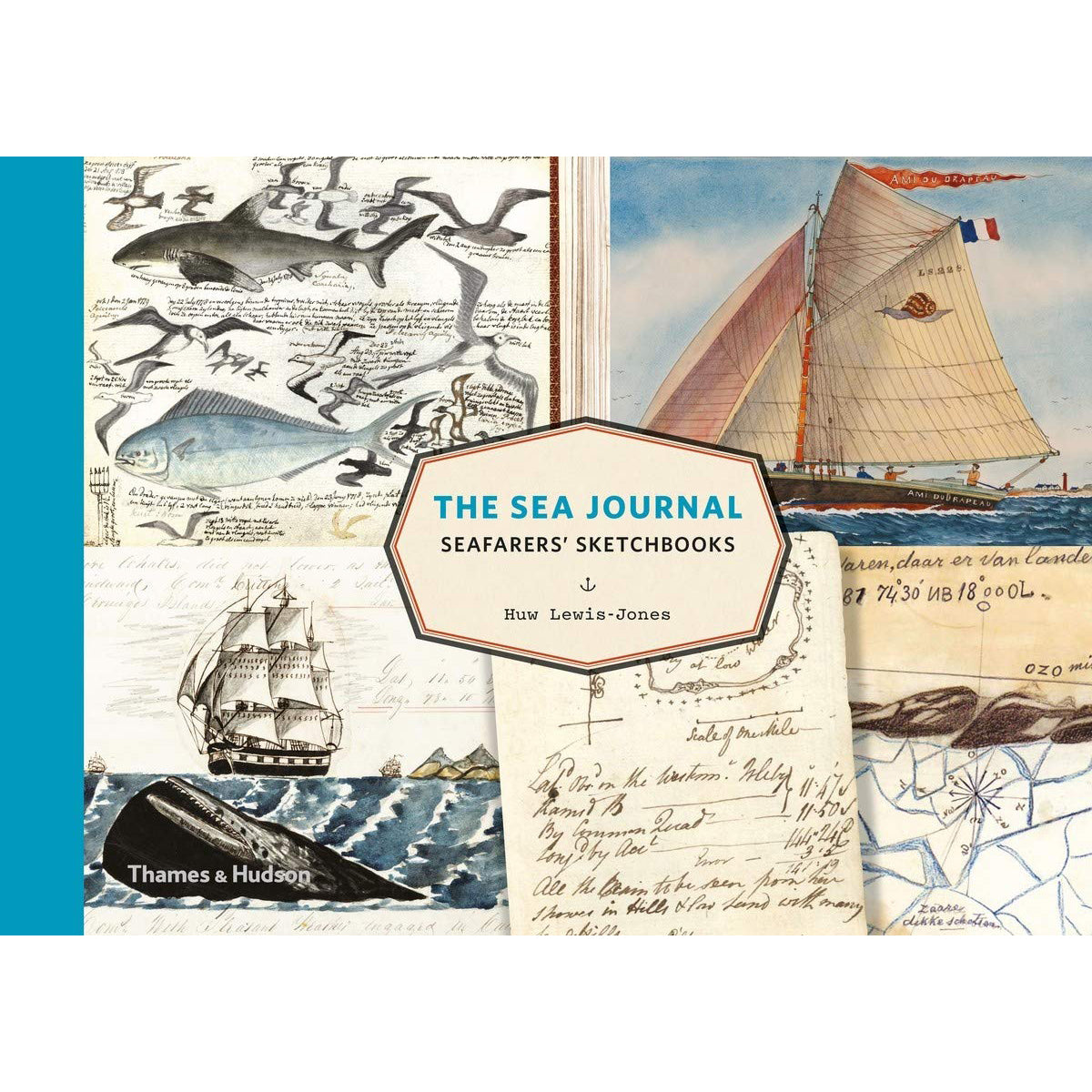 Cover of The Sea Journal: Seafarers' Sketchbooks