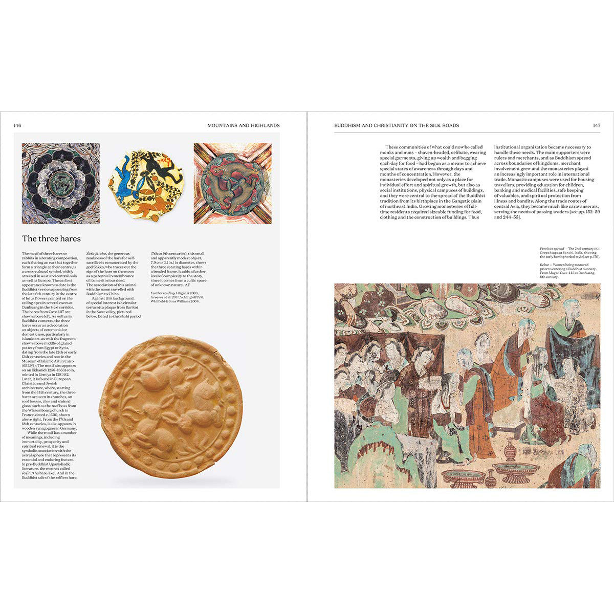 Spread of Silk Roads: Peoples, Cultures, Landscapes