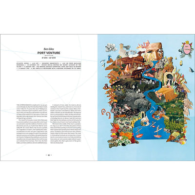 Archipelago: An Atlas of Imagined Islands page spread