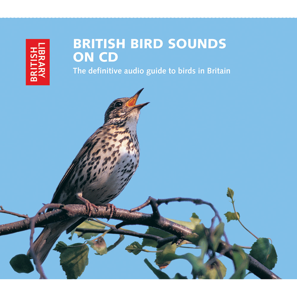 British Bird Sounds CD Cover