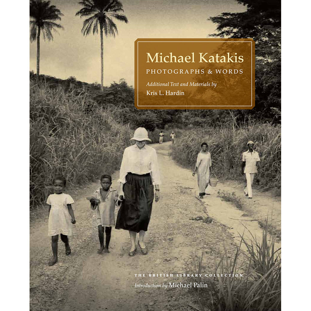 Photographs and Words Michael Katakis Hardback cover