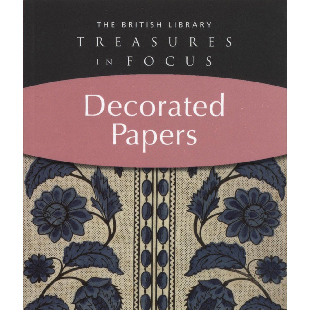 Treasures in Focus: Decorated Papers Paperback Olga Hirsch