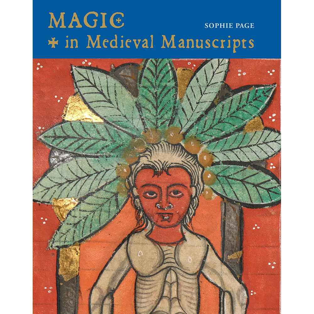Magic in Medieval Manuscripts Hardback Book Cover Image