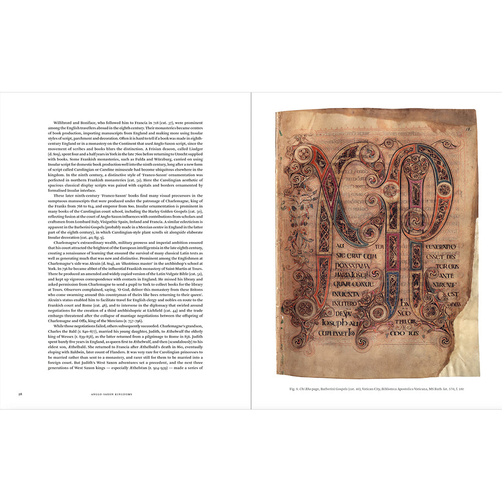 Anglo-Saxon Kingdoms (Paperback) Inside Pages