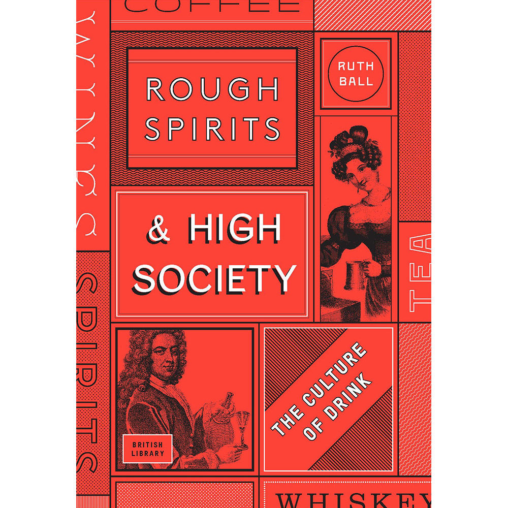 Rough Spirits and High Society Hardback Cover