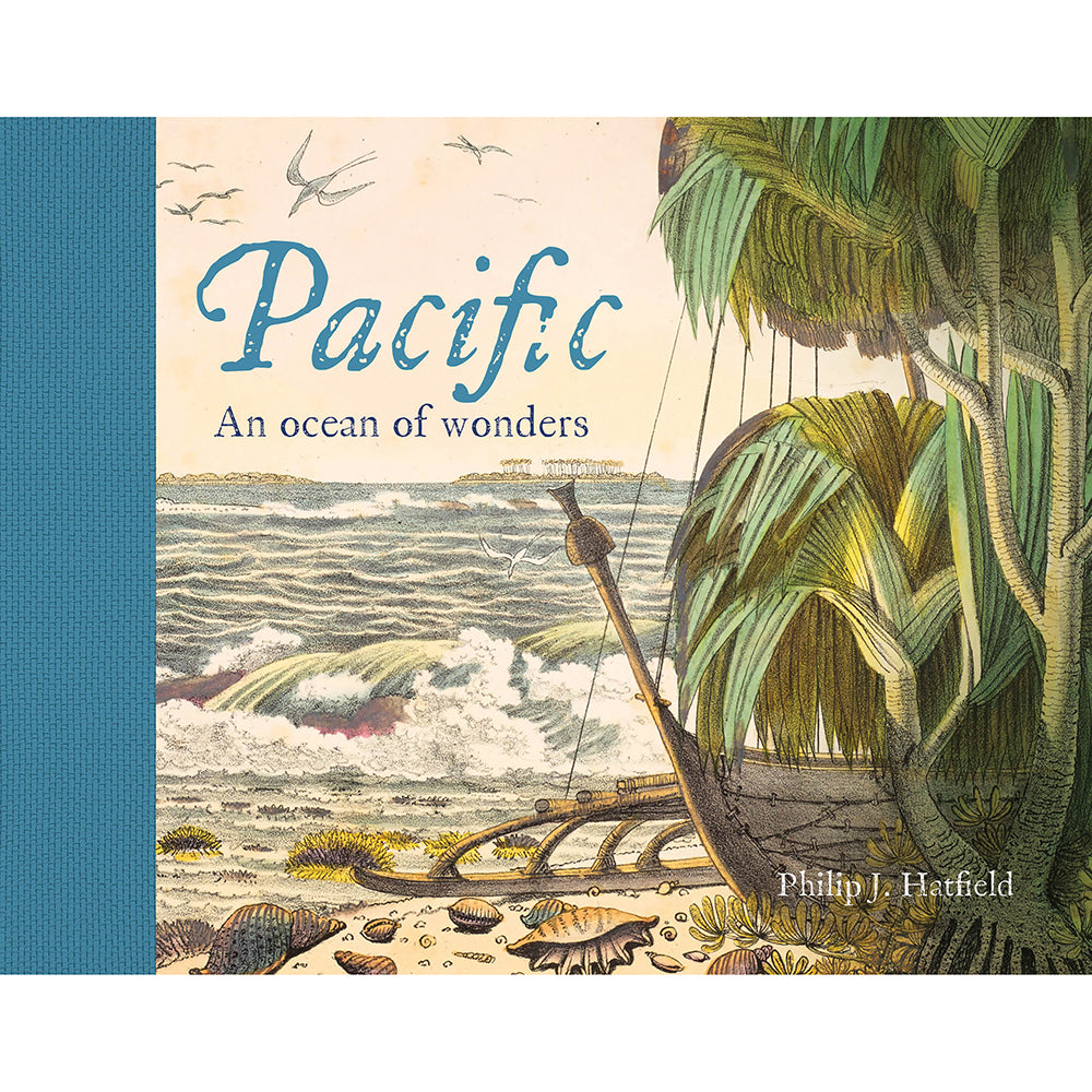 Pacific: An Ocean of Wonders British Library Hardback Cover