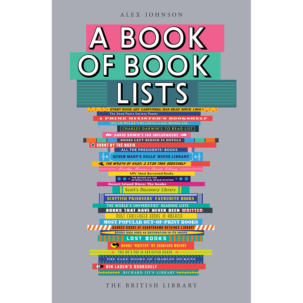 A Book of Book Lists: A Bibliophile's Compendium paperback cover