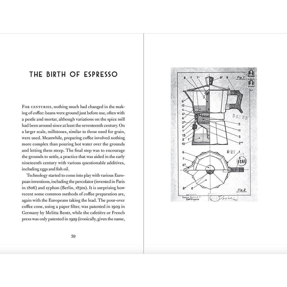 The Philosophy of Coffee Hardback Giftbook Inside Page