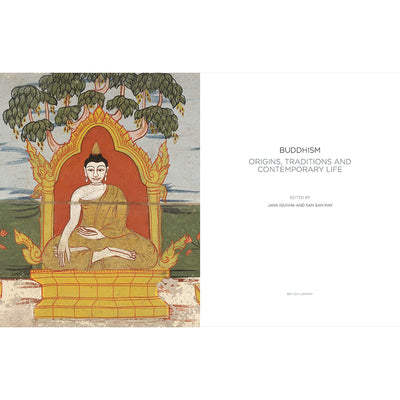 Buddhism: Origins, Traditions and Contemporary Life Hardback Inside Pages