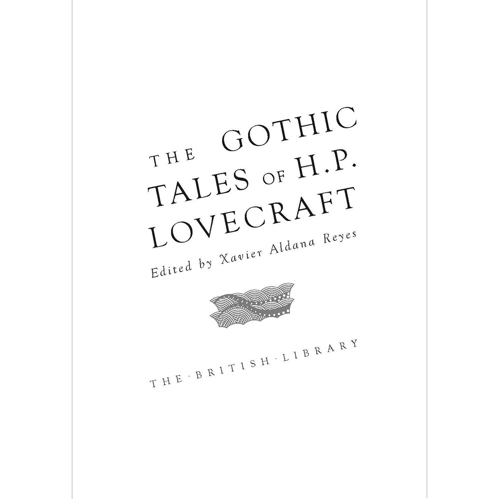 The Gothic Tales of H.P. Lovecraft Hardback Inside Page