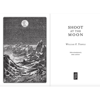 Shoot at the Moon Paperback Inside Pages British Library Science Fiction Classics