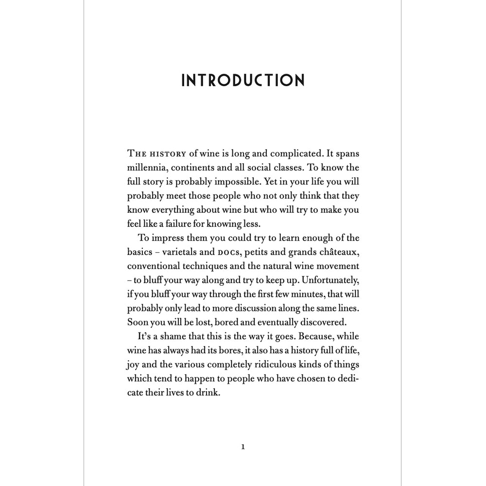 The Philosophy of Wine Hardback British Library giftbook Introduction
