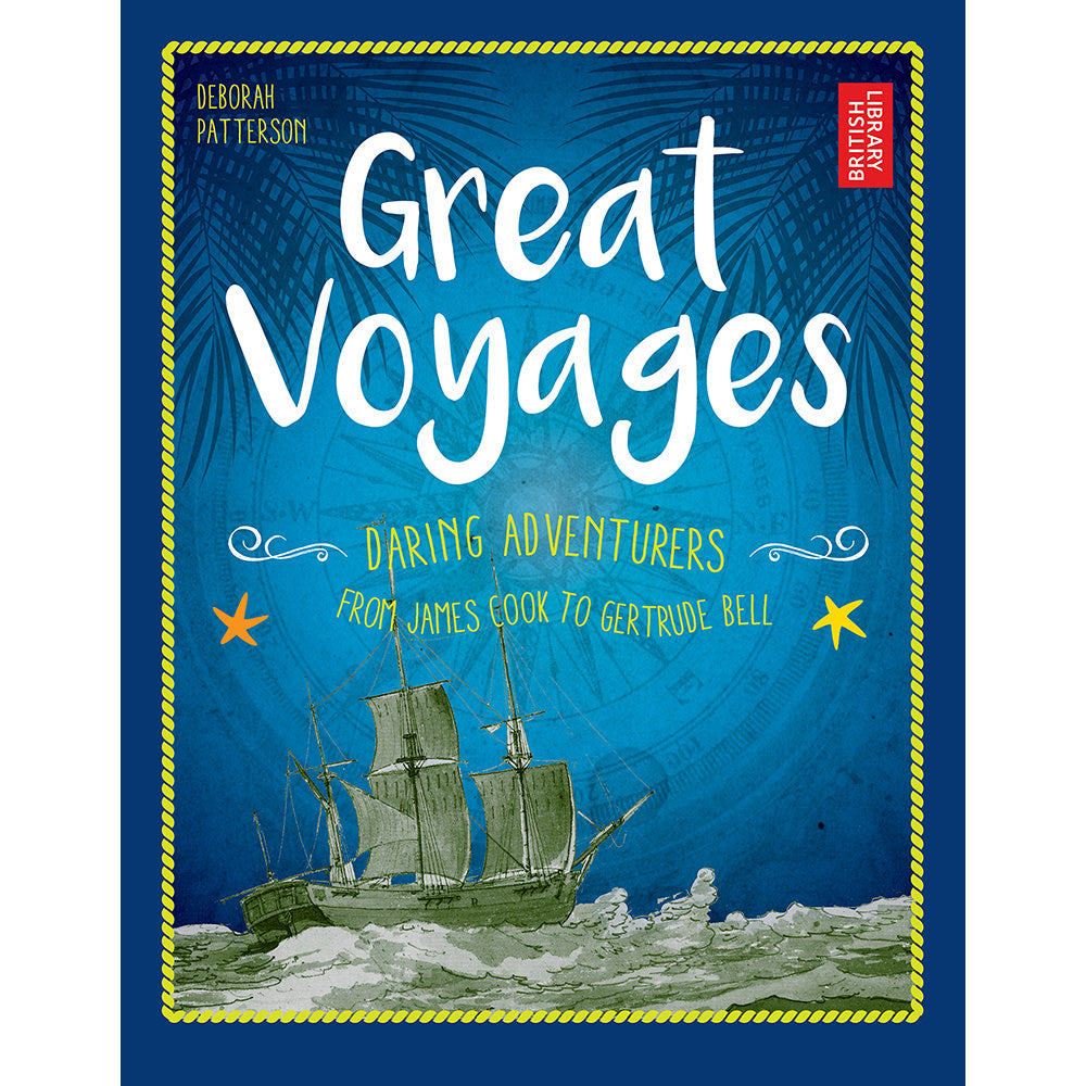 Great Voyages Hardback Children's Book Cover