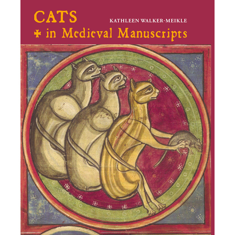 Cats in Medieval Manuscripts (New Edition) Hardback Cover