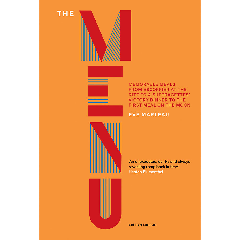 The Menu: Memorable Meals British Library Hardback Cover