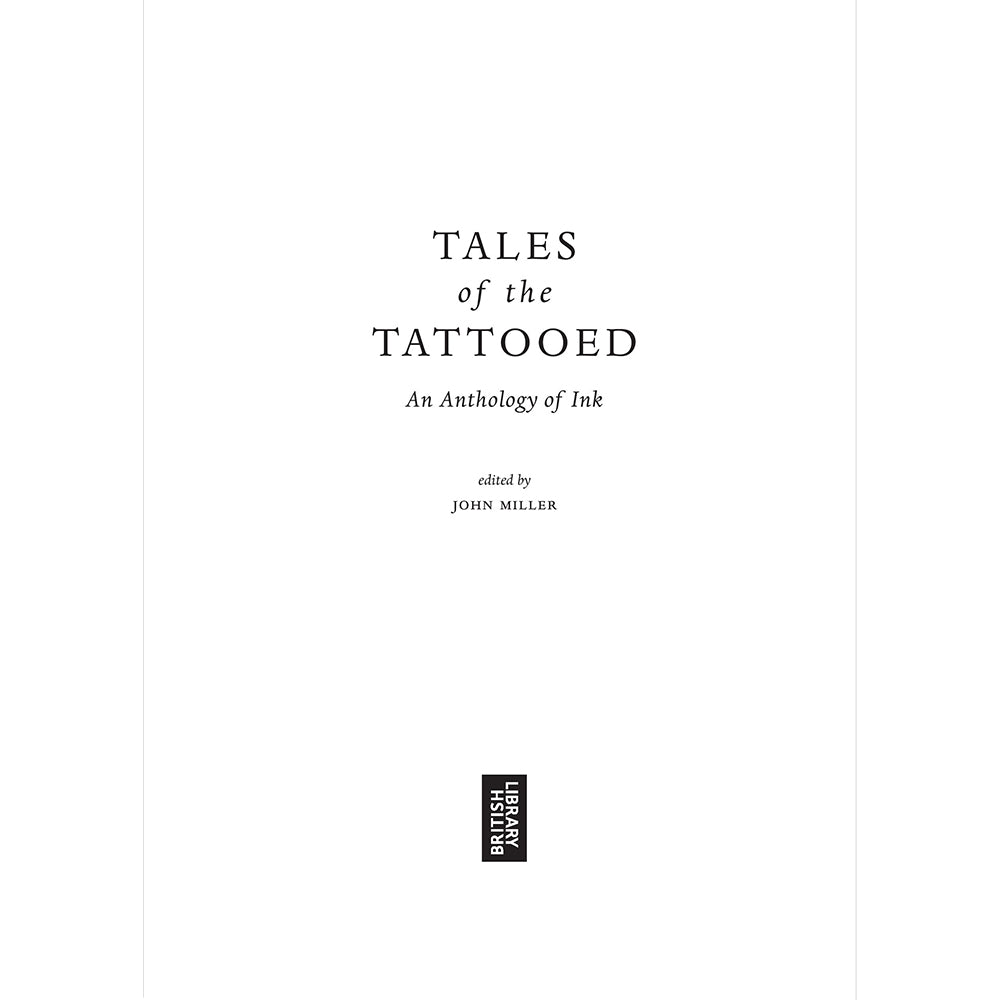 Tales Of The Tattooed Paperback British Library tales of the Weird Inside Pages
