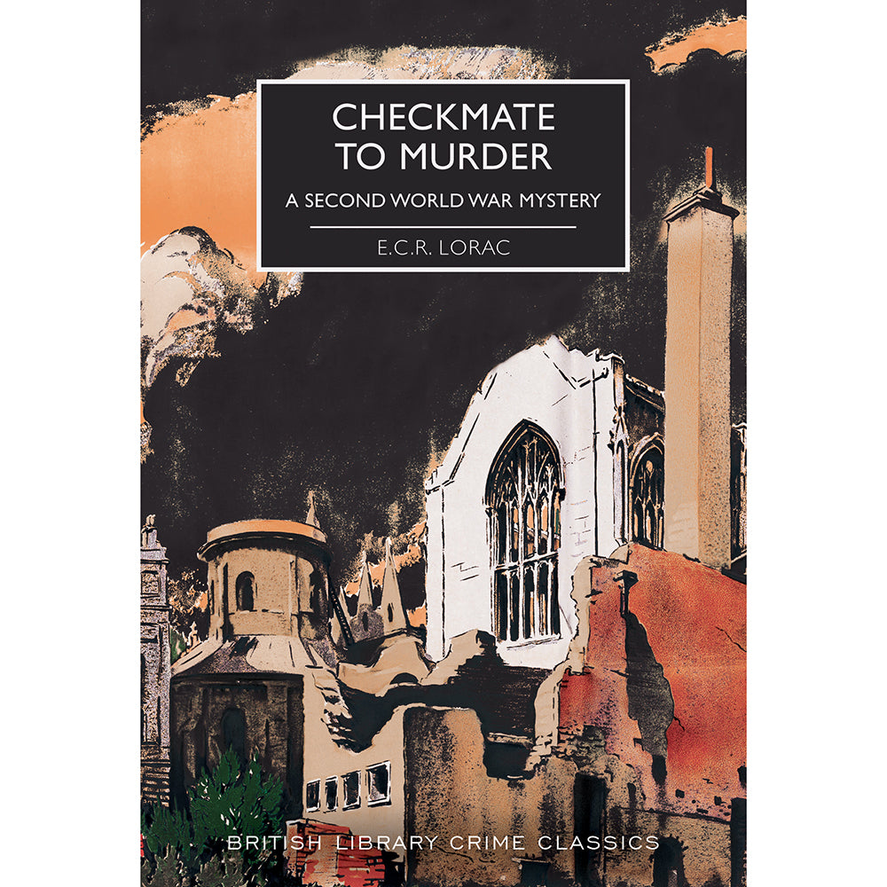 Checkmate to Murder: A Second World War Mystery British Library Crime Classics Cover