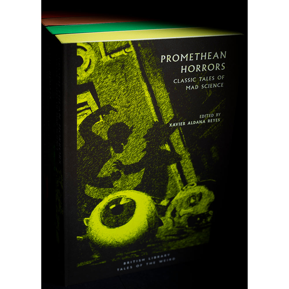 Promethean Horrors (Sprayed Yellow) Tales of the Weird full set