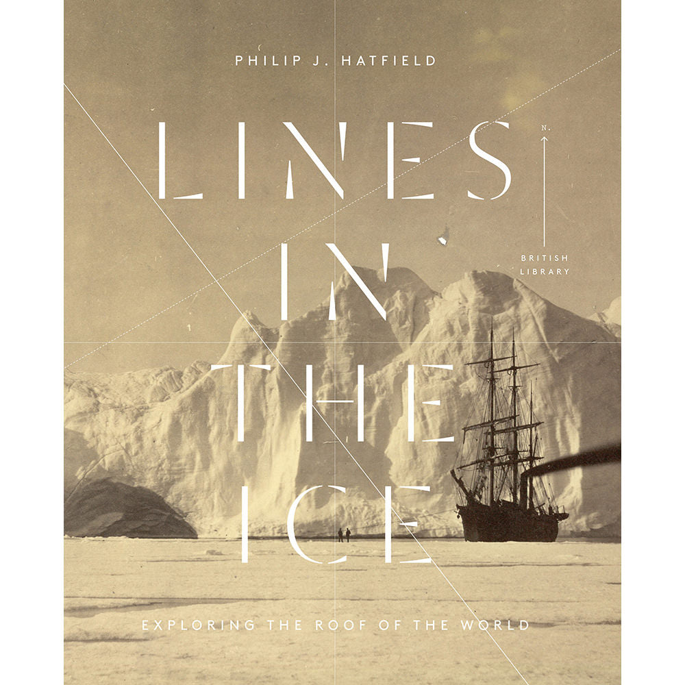 Lines in the Ice Hardback Book Cover