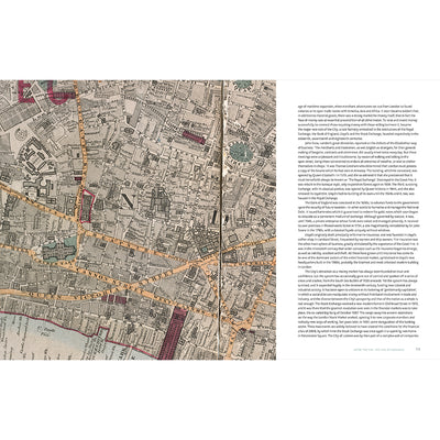 London: A Life in Maps Paperback Book Inside Pages