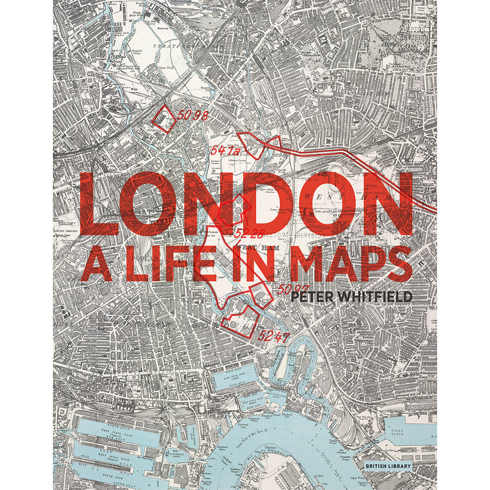 London: A Life in Maps Paperback Book Cover
