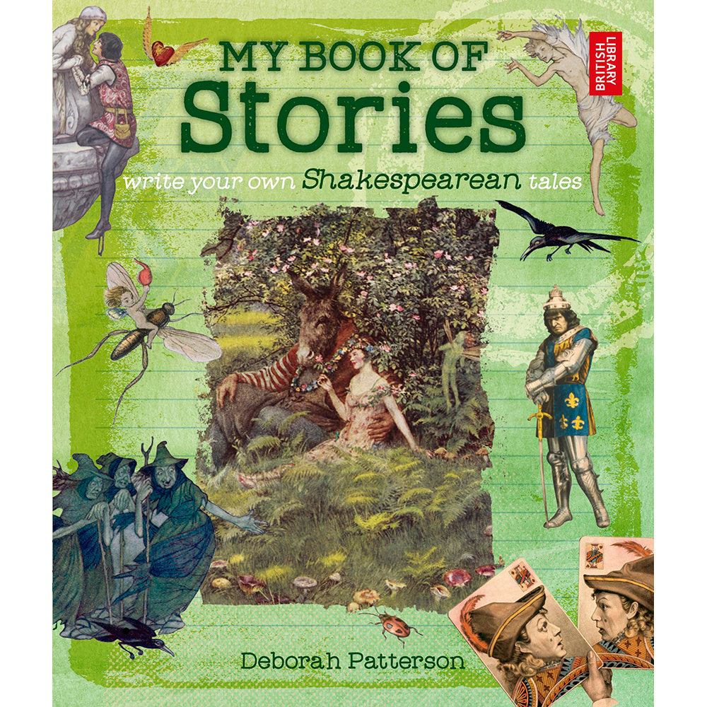 My Book of Stories: Shakespearean Tales Children's Books Cover Image