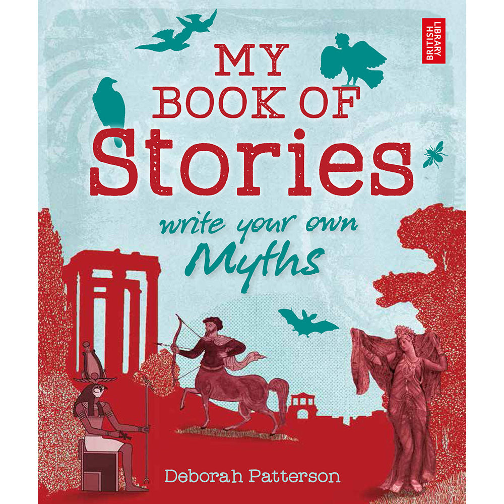 My Book of Stories: Myths Children's Book Front Cover