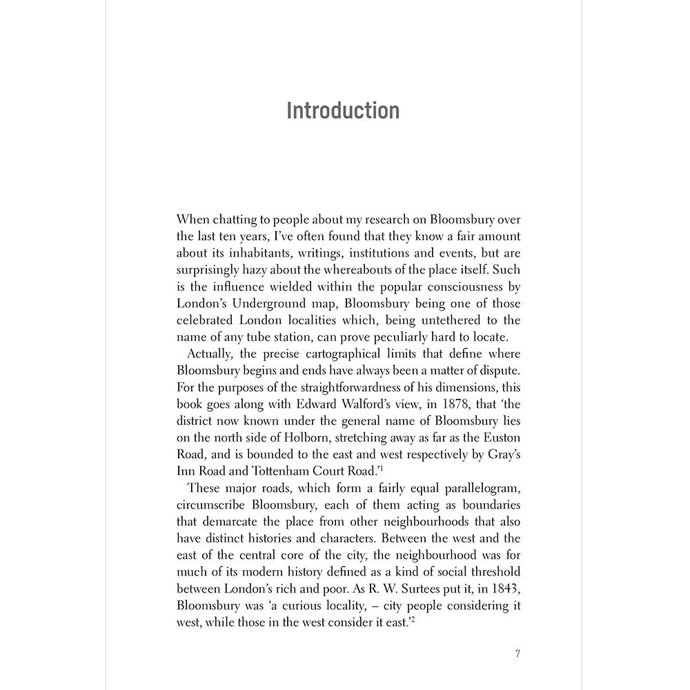 Bloomsbury Paperback British Library Introduction 1