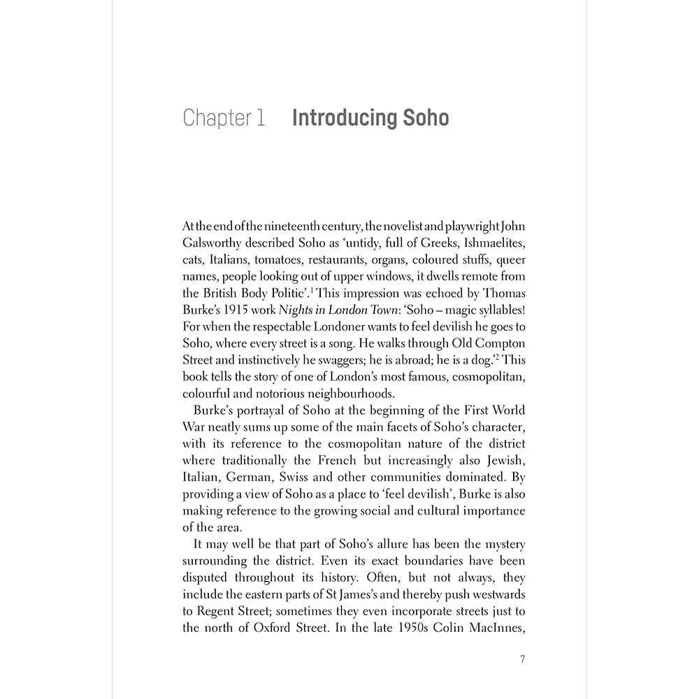 Soho Paperback British Library London Introduction