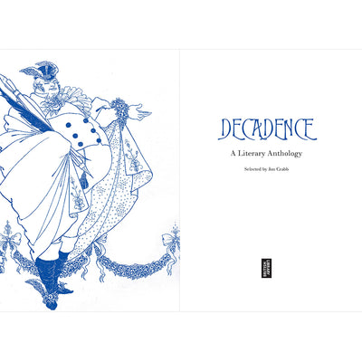 Decadence Hardback Inside Pages