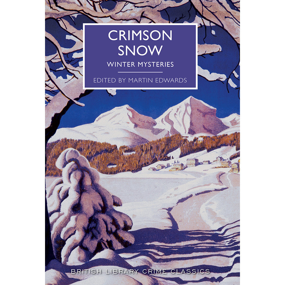 Crimson Snow Paperback British Library Christmas Crime Classic