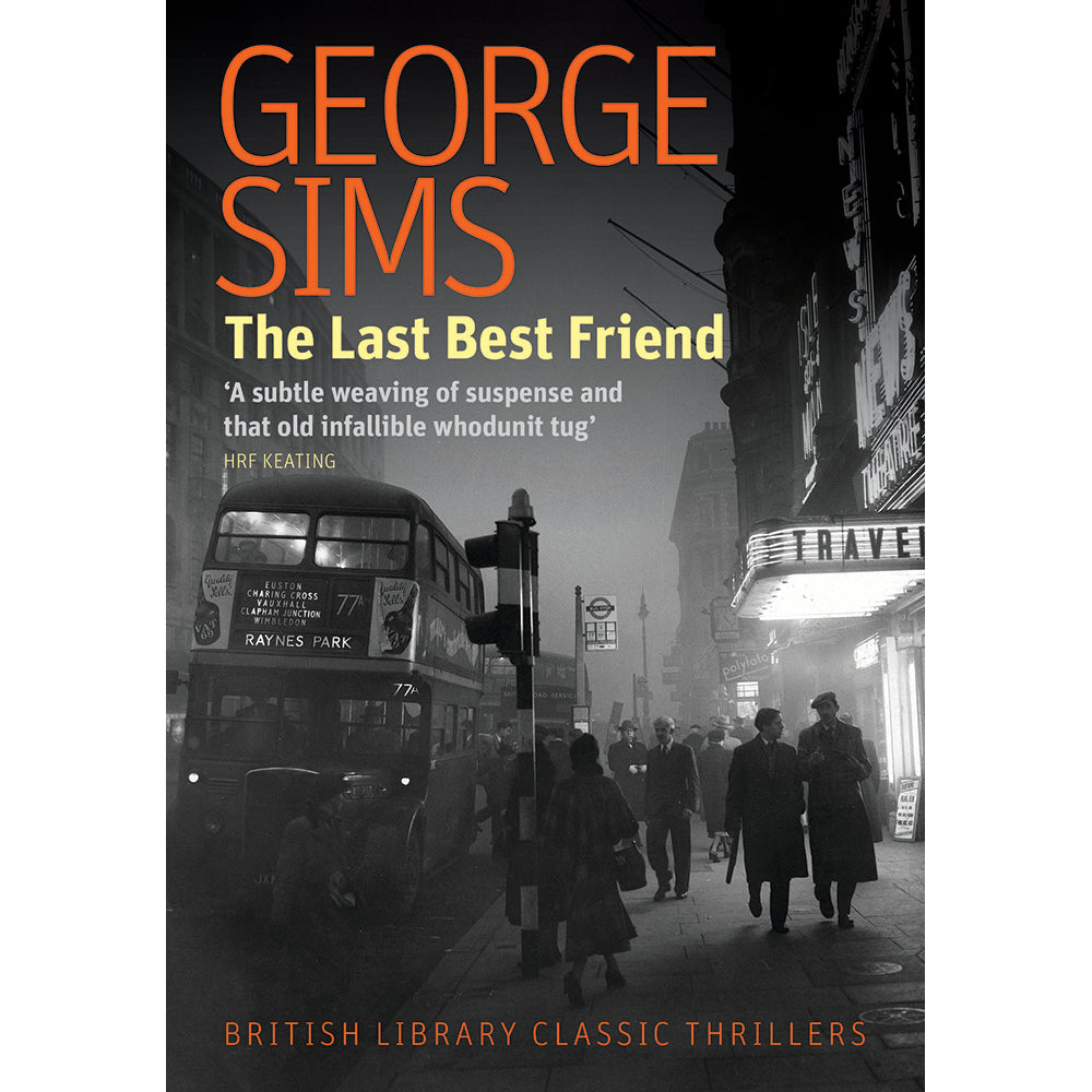 The Last Best Friend Paperback Crime