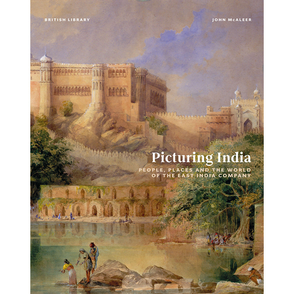 Picturing India British Library Hardback Cover