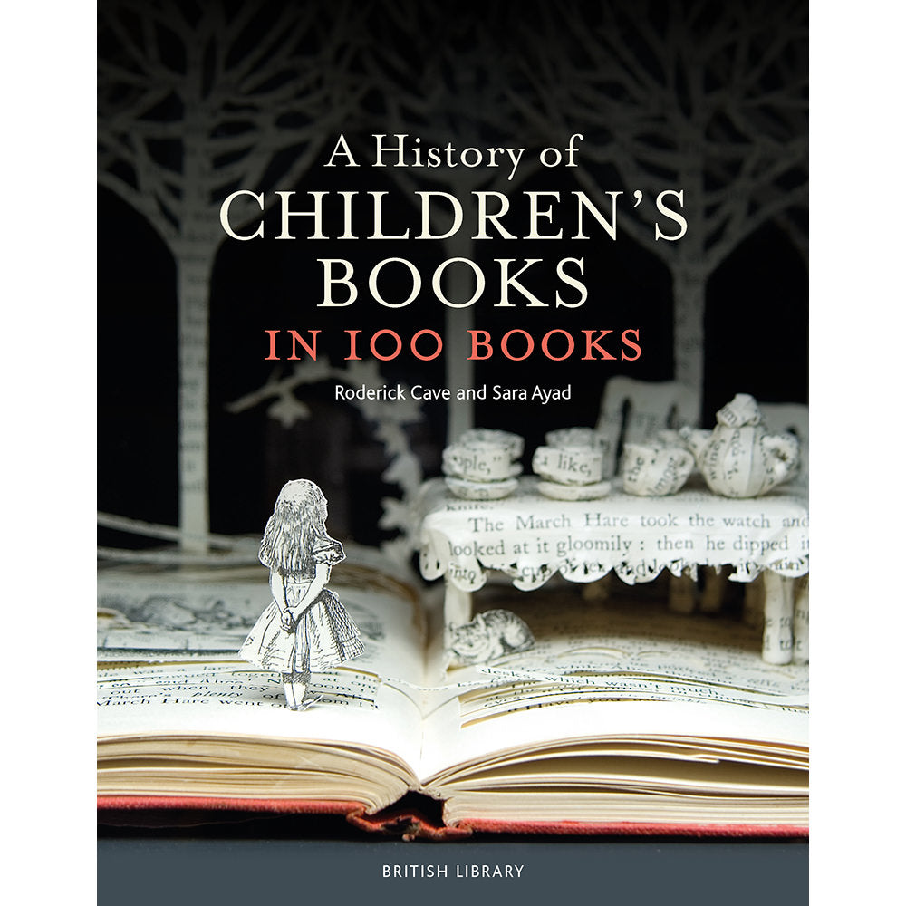 A History of Children's Books in 100 Books Hardback Cover