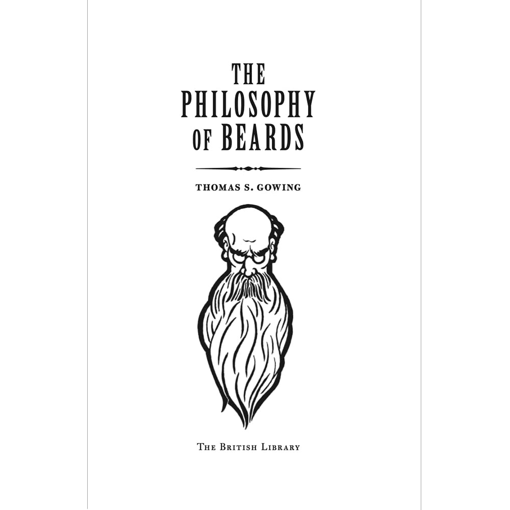 The Philosophy of Beards Hardback Gift Book Inside Pages