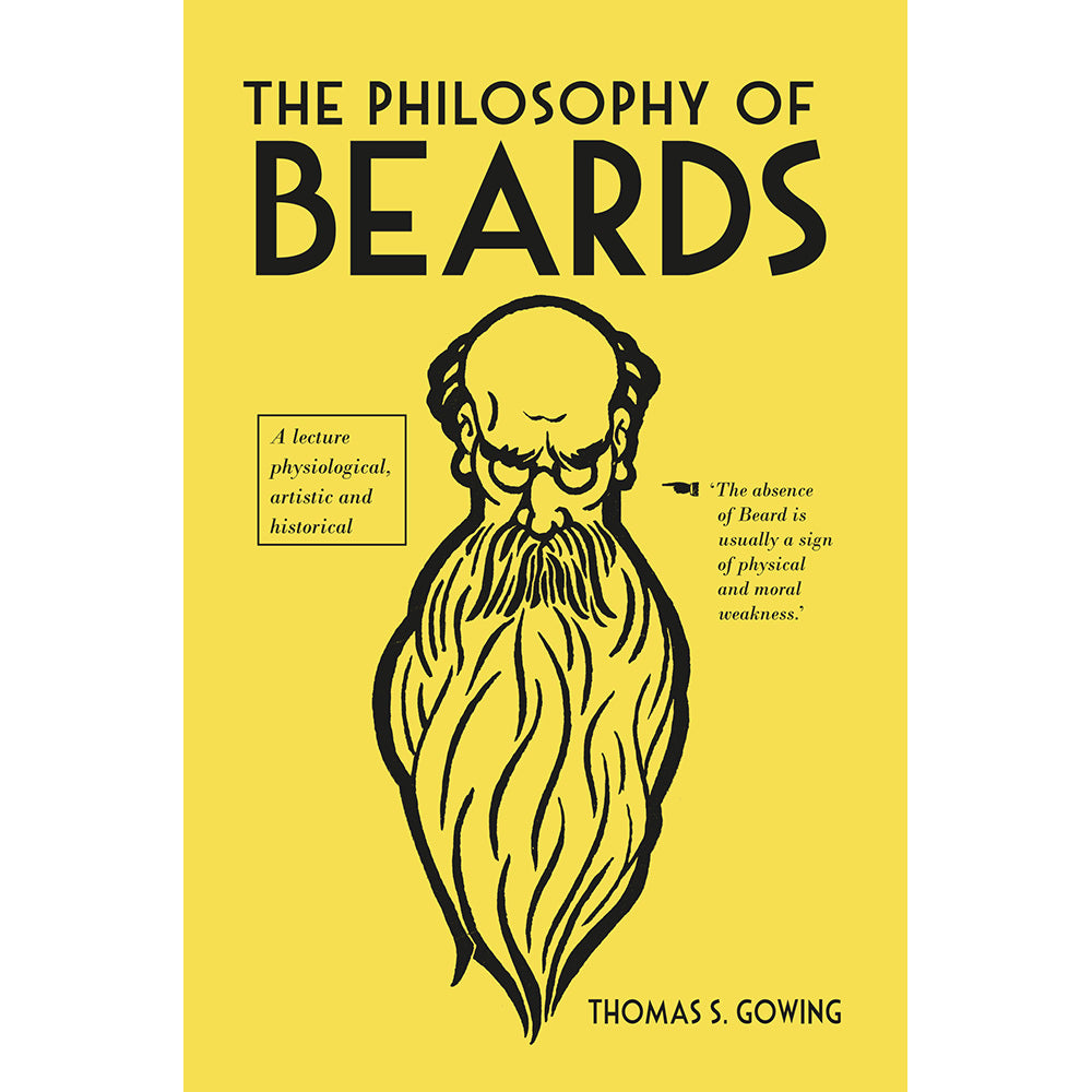 The Philosophy of Beards Hardback Gift Book