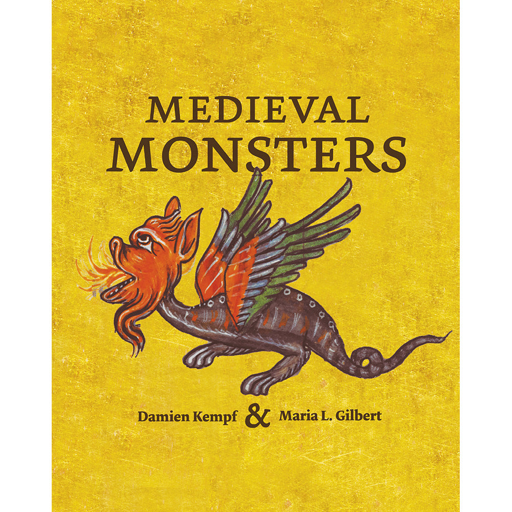 Medieval Monsters Hardback Book cover