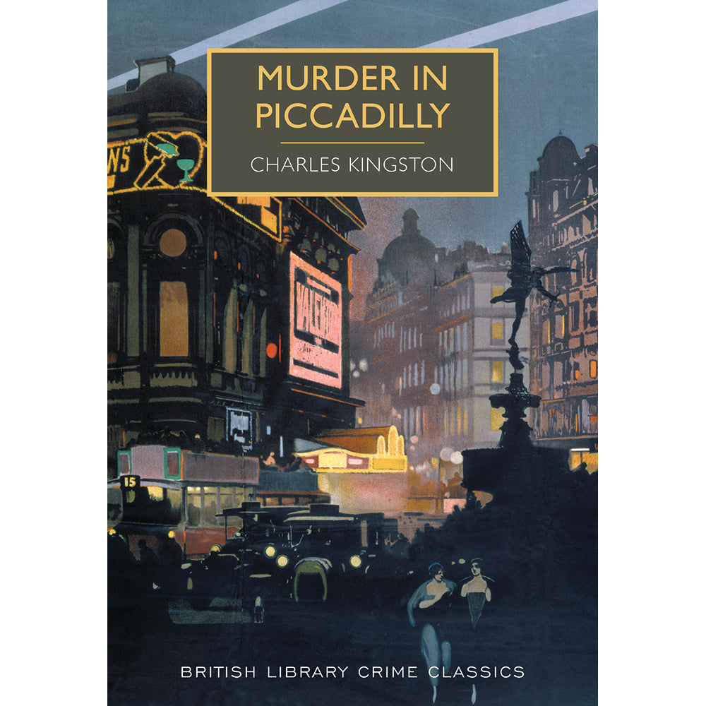 Murder in Piccadilly Paperback British Library Crime Classic